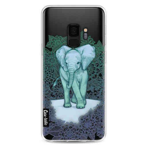Casetastic Softcover Samsung Galaxy S9 - Emerald Elephant