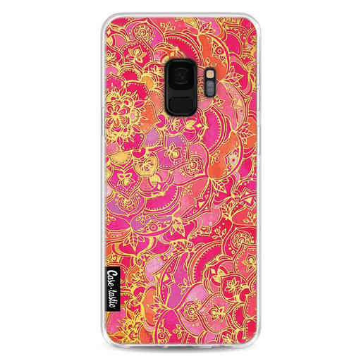 Casetastic Softcover Samsung Galaxy S9 - Hot Pink Barroque