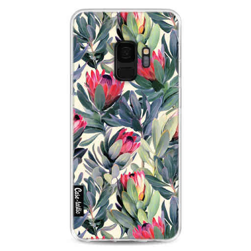 Casetastic Softcover Samsung Galaxy S9 - Painted Protea