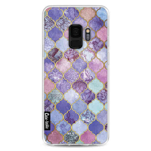 Casetastic Softcover Samsung Galaxy S9 - Purple Moroccan Tiles
