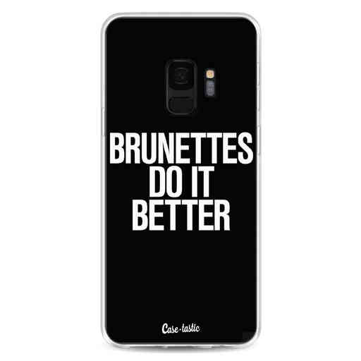 Casetastic Softcover Samsung Galaxy S9 - Brunettes Do It Better