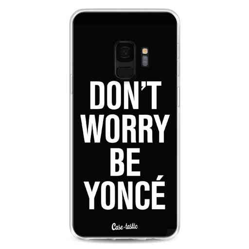 Casetastic Softcover Samsung Galaxy S9 - Don't Worry Beyoncé
