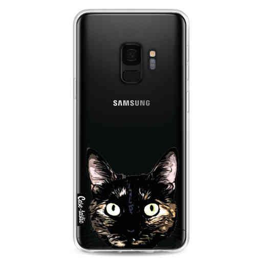 Casetastic Softcover Samsung Galaxy S9 - Peeking Kitty