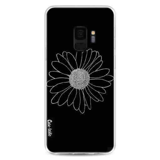 Casetastic Softcover Samsung Galaxy S9 - Daisy Black