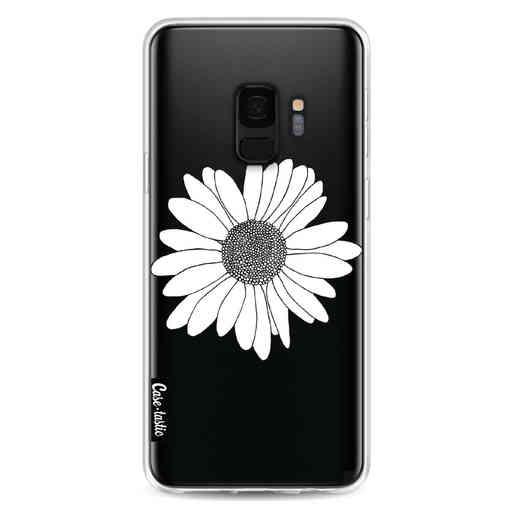Casetastic Softcover Samsung Galaxy S9 - Daisy Transparent