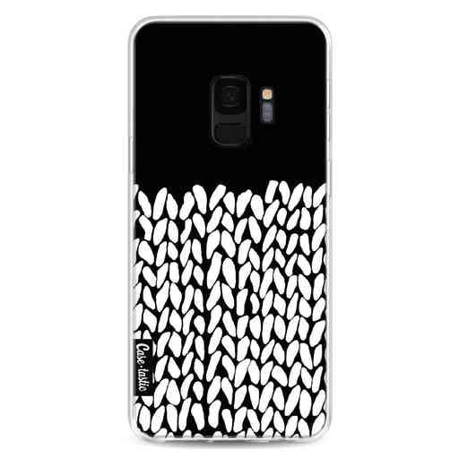 Casetastic Softcover Samsung Galaxy S9 - Half Knit Black