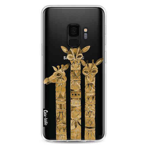 Casetastic Softcover Samsung Galaxy S9 - Sepia Giraffes
