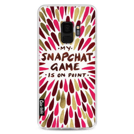 Casetastic Softcover Samsung Galaxy S9 - Snapchat Red