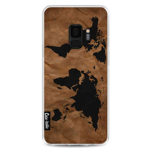 Casetastic Softcover Samsung Galaxy S9 - World Map