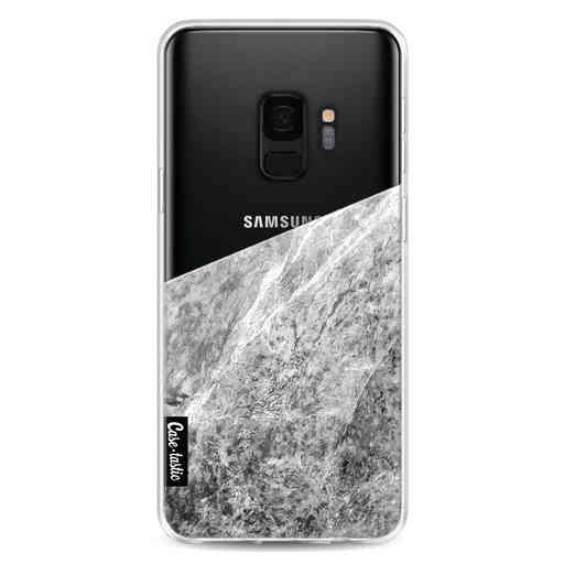 Casetastic Softcover Samsung Galaxy S9 - Marble Transparent