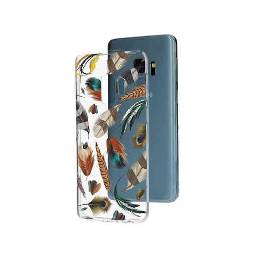 Casetastic Softcover Samsung Galaxy S9 - Feathers Multi