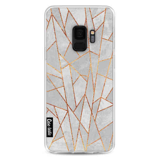 Casetastic Softcover Samsung Galaxy S9 - Shattered Concrete
