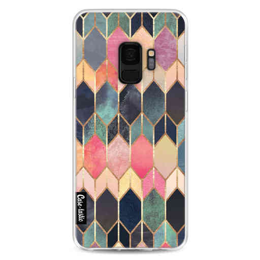 Casetastic Softcover Samsung Galaxy S9 - Stained Glass Multi