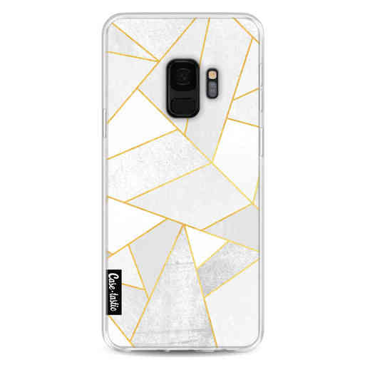 Casetastic Softcover Samsung Galaxy S9 - White Stone