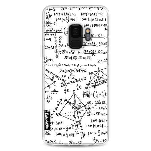 Casetastic Softcover Samsung Galaxy S9 - You Do The Math White