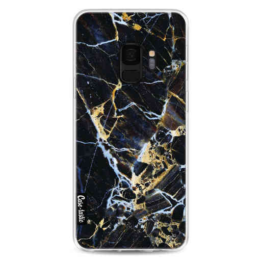 Casetastic Softcover Samsung Galaxy S9 - Black Gold Marble