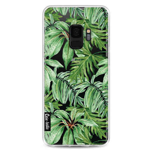 Casetastic Softcover Samsung Galaxy S9 - Transparent Leaves