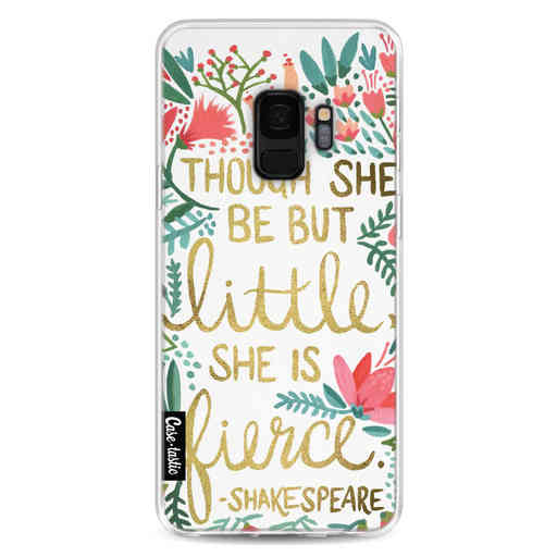 Casetastic Softcover Samsung Galaxy S9 - Little Fierce White