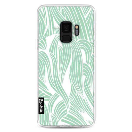 Casetastic Softcover Samsung Galaxy S9 - Seam Foam Organic Print