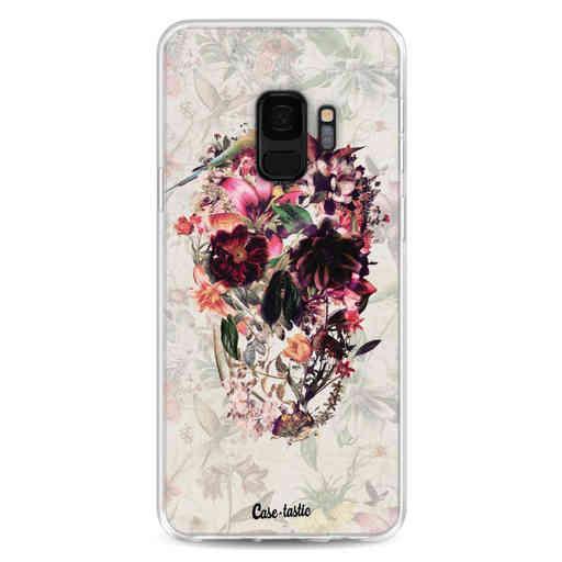 Casetastic Softcover Samsung Galaxy S9 - Flower Skull