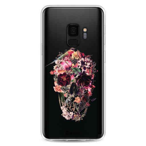 Casetastic Softcover Samsung Galaxy S9 - Transparent Skull