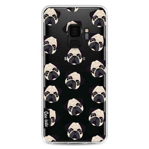 Casetastic Softcover Samsung Galaxy S9 - Pug Trouble