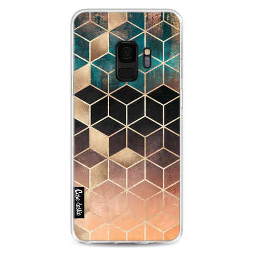 Casetastic Softcover Samsung Galaxy S9 - Ombre Dream Cubes