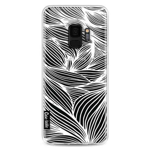 Casetastic Softcover Samsung Galaxy S9 - Wavy Outlines