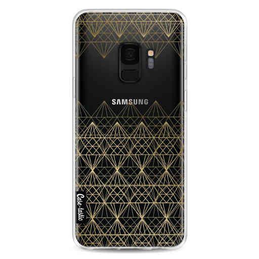 Casetastic Softcover Samsung Galaxy S9 - Golden Diamonds