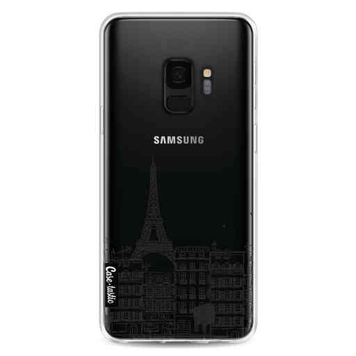Casetastic Softcover Samsung Galaxy S9 - Paris City Houses