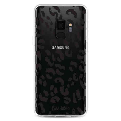 Casetastic Softcover Samsung Galaxy S9 - Leopard Print Black