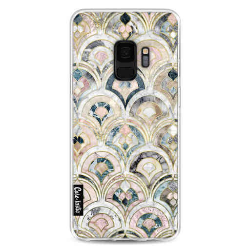 Casetastic Softcover Samsung Galaxy S9 - Art Deco Marble Tiles