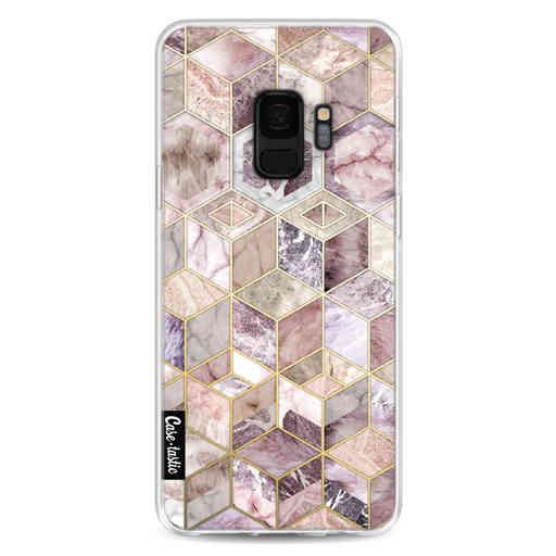 Casetastic Softcover Samsung Galaxy S9 - Blush Quartz Honeycomb