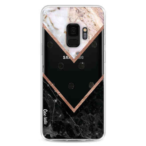 Casetastic Softcover Samsung Galaxy S9 - Mix of Marbles