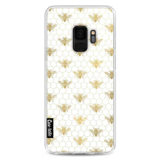 Casetastic Softcover Samsung Galaxy S9 - Golden Honey Bee