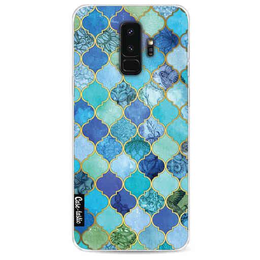 Casetastic Softcover Samsung Galaxy S9 Plus - Aqua Moroccan Tiles