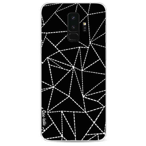 Casetastic Softcover Samsung Galaxy S9 Plus - Abstract Dotted Lines Black