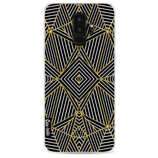 Casetastic Softcover Samsung Galaxy S9 Plus - Abstraction Half Gold