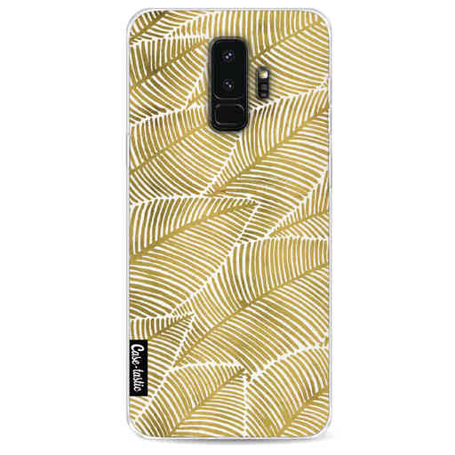 Casetastic Softcover Samsung Galaxy S9 Plus - Tropical Leaves Gold