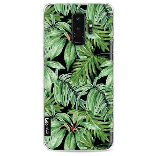 Casetastic Softcover Samsung Galaxy S9 Plus - Transparent Leaves