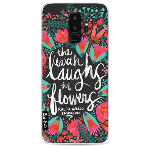 Casetastic Softcover Samsung Galaxy S9 Plus - Laughs Flowers Charcoal
