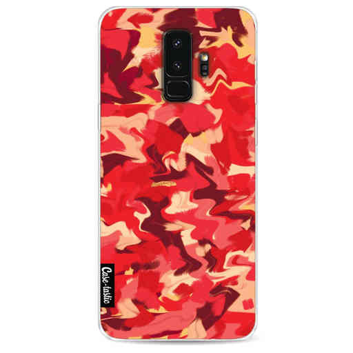 Casetastic Softcover Samsung Galaxy S9 Plus - Fire Camouflage