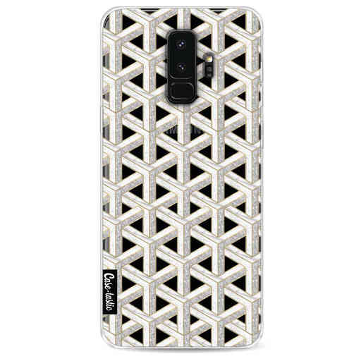 Casetastic Softcover Samsung Galaxy S9 Plus - Abstract Marble Transparent