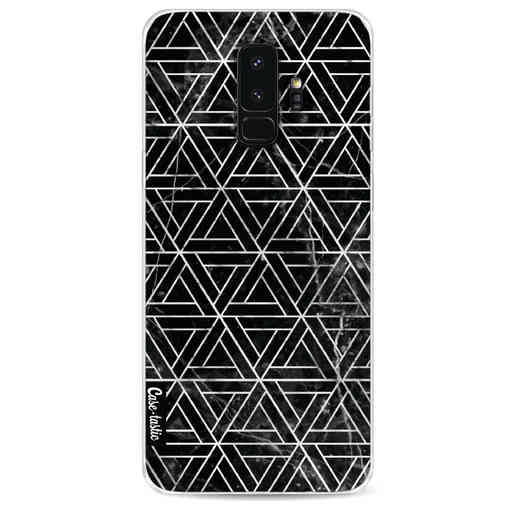 Casetastic Softcover Samsung Galaxy S9 Plus - Abstract Marble Triangles