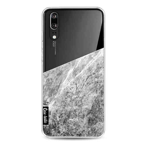 Casetastic Softcover Huawei P20 - Marble Transparent