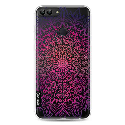 Casetastic Softcover Huawei P Smart - Happy Mandala