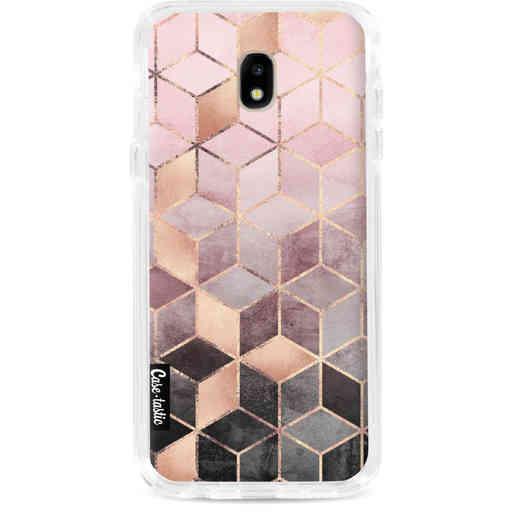 Casetastic Dual Snap Case Samsung Galaxy J5 (2017) - Soft Pink Gradient Cubes