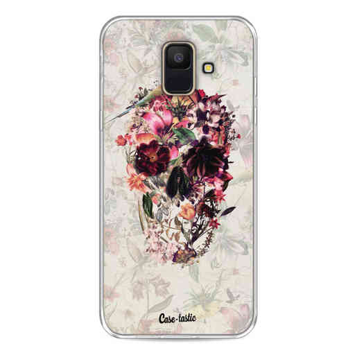 Casetastic Softcover Samsung Galaxy A6 (2018) - Flower Skull