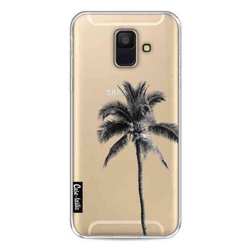 Casetastic Softcover Samsung Galaxy A6 (2018) - Palm Tree Transparent