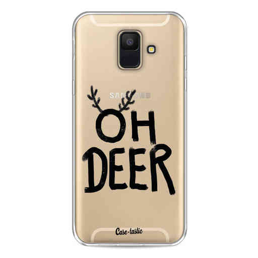 Casetastic Softcover Samsung Galaxy A6 (2018) - Oh Deer